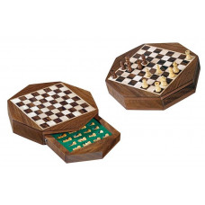 Chess complete set Octagon Magnetic XS