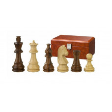Wooden Chessmen hand-carved Titus KH 65 mm