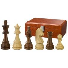 Schackpjäser 95 mm Titus i sheesham och buxbom