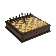 The Reykjavik Series Library Chess and Checkers Set M