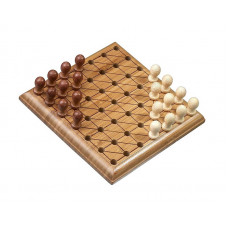 Chinese checkers game travel bamboo