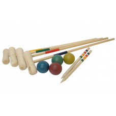 Croquet set of 4 Basic