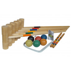 Croquet set of 6 Semipro