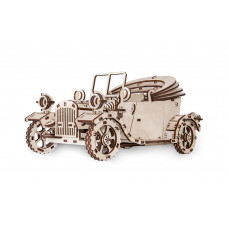 Wooden 3D puzzle Retro Car